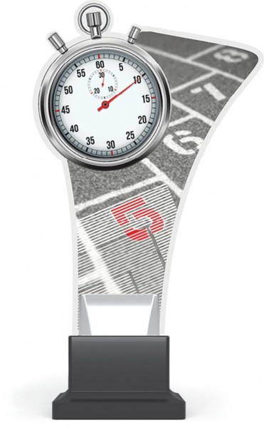 "Acrylglas-Pokal "" Laufen-Running """