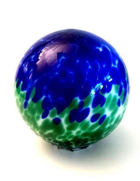 Glasurne blau-grün