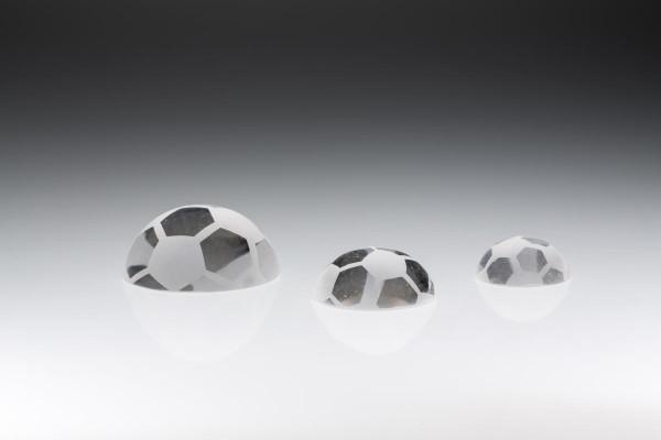 "Kristall Fußball "" Halfballs """