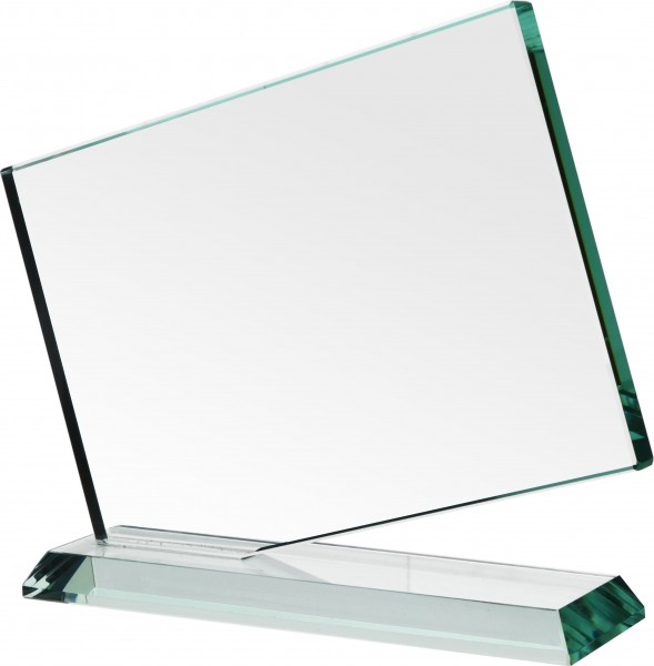 moderne Glas-Trophäe