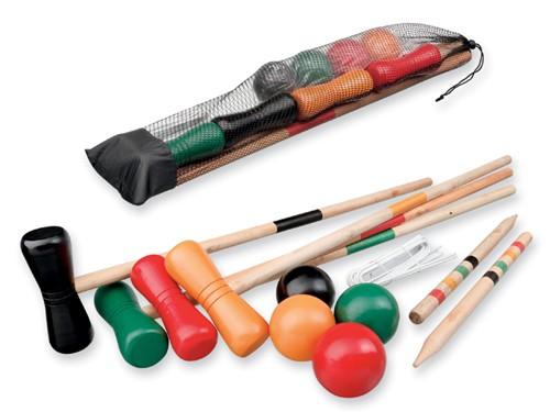 Croquet-Set aus Holz