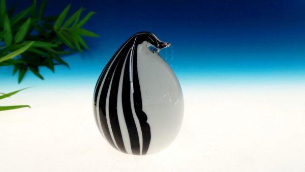 Vogel schwarz -weiß