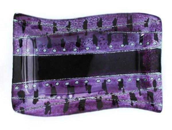 dekorative Designer Glasschale
