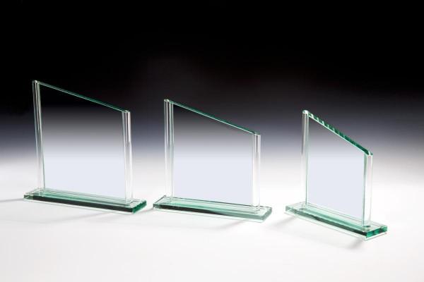 Jade Trophäe mit Glasstäben