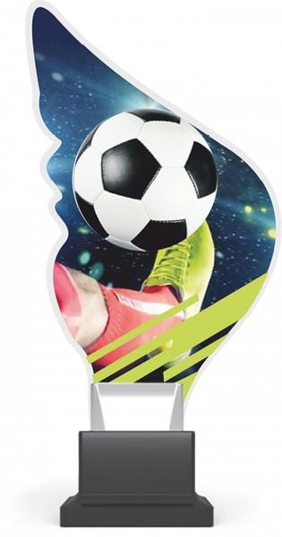 """Acrylglas-Pokal """" Fußball-Soccer"""""""