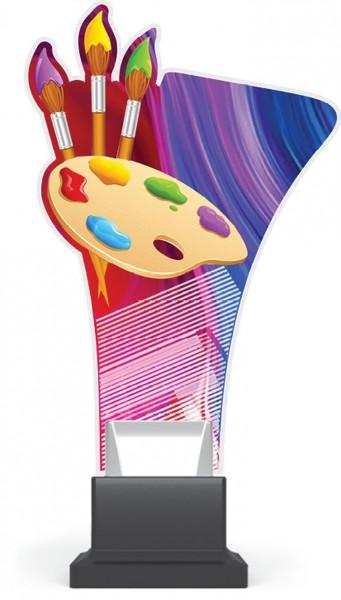 "Acrylglas-Pokal "" Painting """