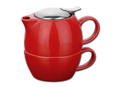 Teeset 2 in 1 aus Keramik
