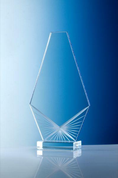 Glastrophy, Glasschliff handgefertigt