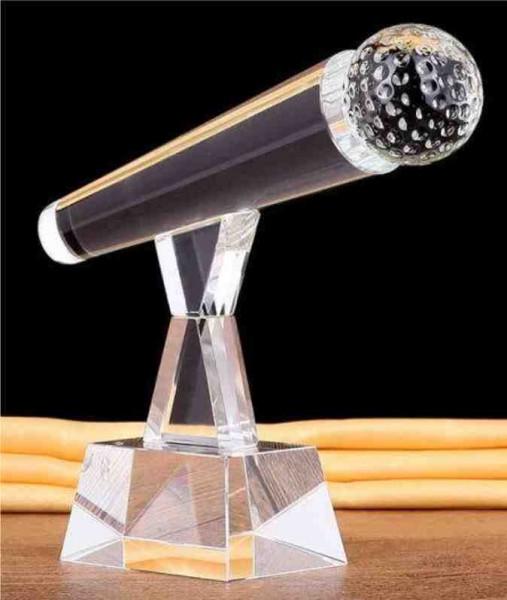 Kristall-Mikrofon