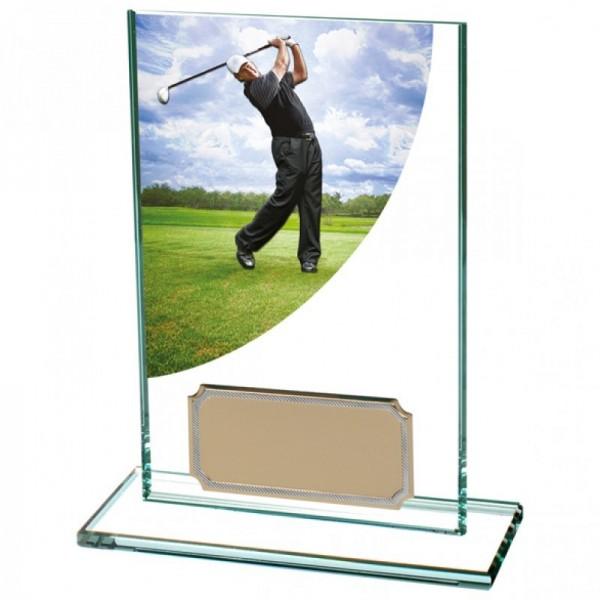"""Kirstallpokal """" Golfer """""""