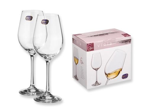 6-teiliges Weinglasset