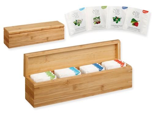 Teeset in Bambusholzbox