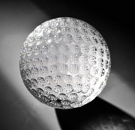 Kristallgolfball