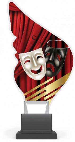 """Acrylglas-Pokal """" Theater """""""
