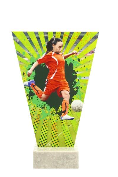V2- Line Glasaward-Fußball Frauen