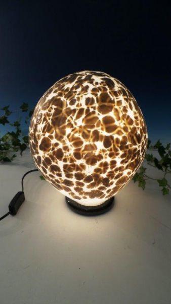 Glaslampen sparkling -braun