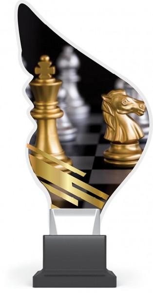 "Acrylglas-Pokal "" Schach-Chess """