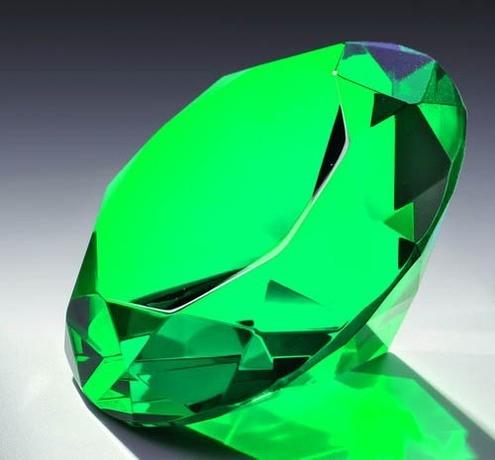 Glasdiamant Grün