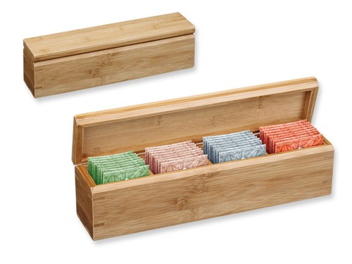 Teeset mit Geschenkbox aus Bambusholz
