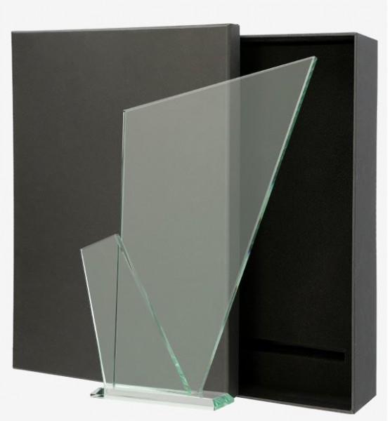 elegante Glastrophäe