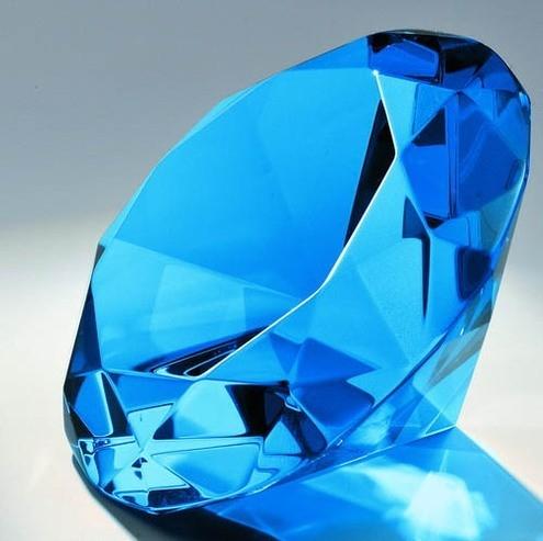 Kristallglas Diamant