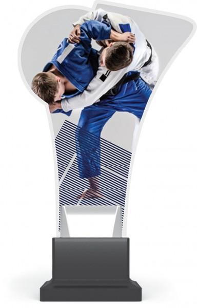 "Acrylglas-Pokal "" Judo """