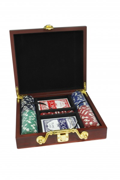 exklusives Poker-Set