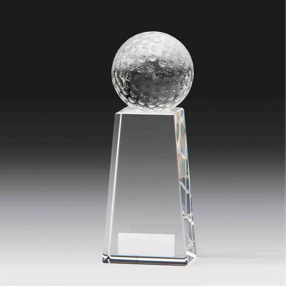 Kristall-Golfball