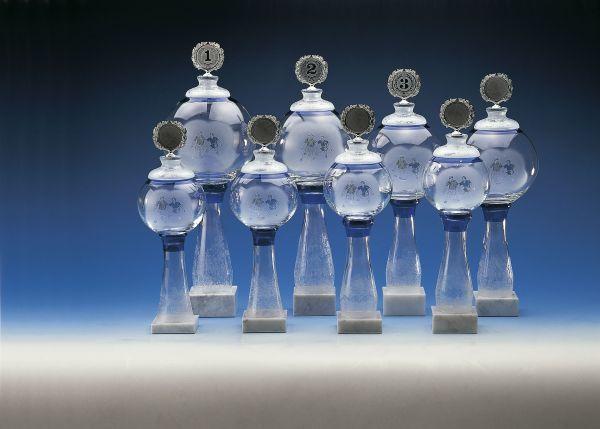 Kristallpokal, hervorragend für jede Siegerehrung