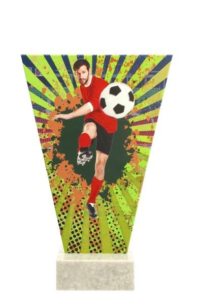 V2- Line Glasaward-Fußball