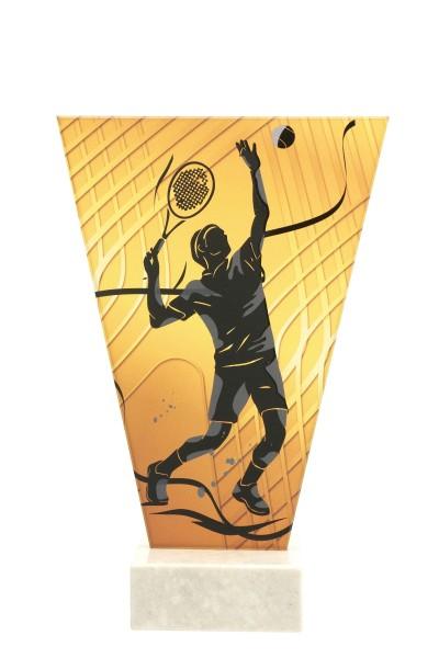 V Line Glasaward-Tennis Männer