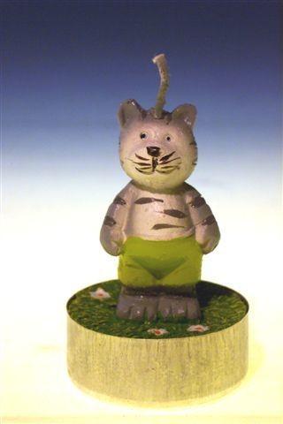 Teelicht Katze