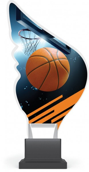 "Acrylglas-Pokal "" Basketball """